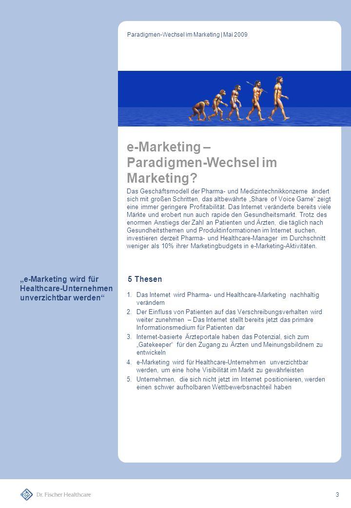 """""""e-Marketing wird für Healthcare-Unternehmen unverzichtbar werden"""