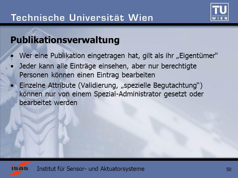 Publikationsverwaltung