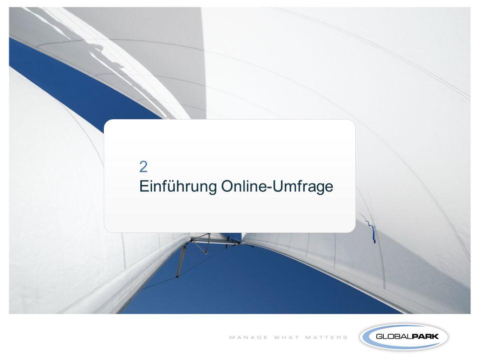 2 Einführung Online-Umfrage