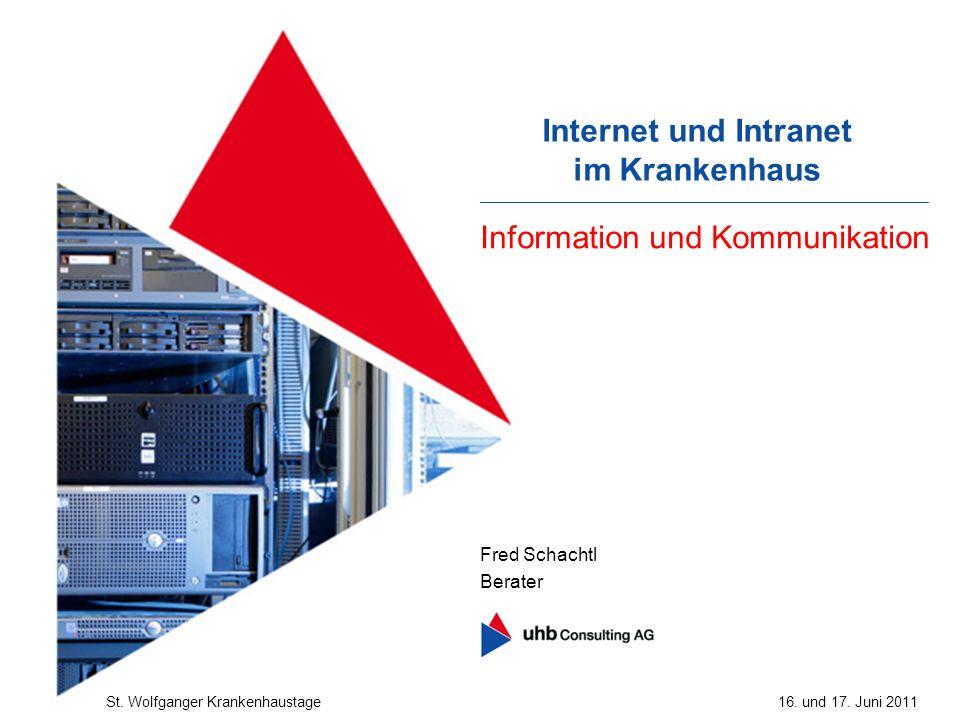 Internet und Intranet im Krankenhaus