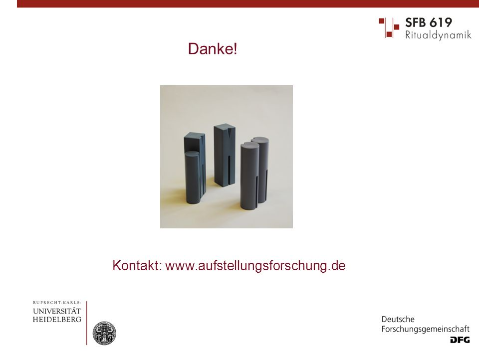 Danke! Kontakt: www.aufstellungsforschung.de