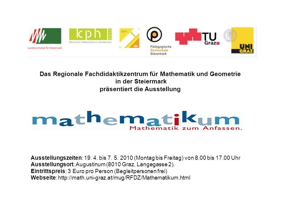 Das Regionale Fachdidaktikzentrum für Mathematik und Geometrie