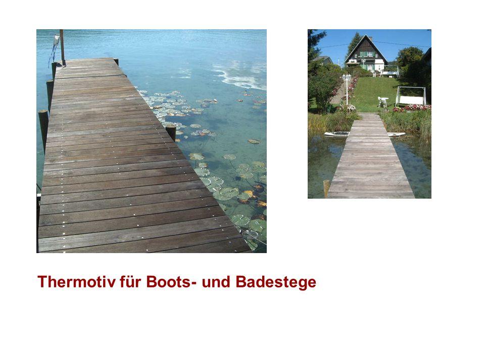 Thermotiv für Boots- und Badestege