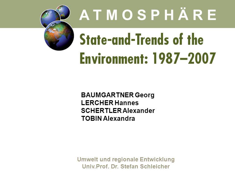 Umwelt und regionale Entwicklung Univ.Prof. Dr. Stefan Schleicher