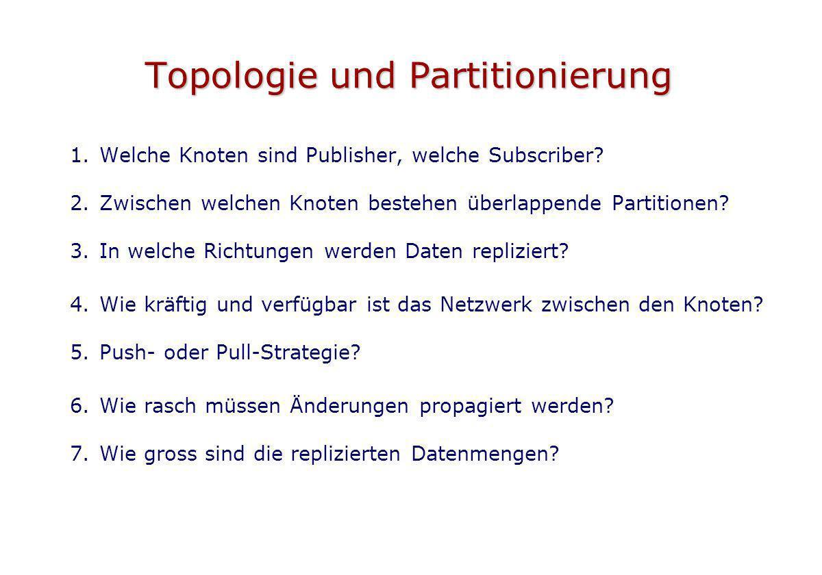 Topologie und Partitionierung