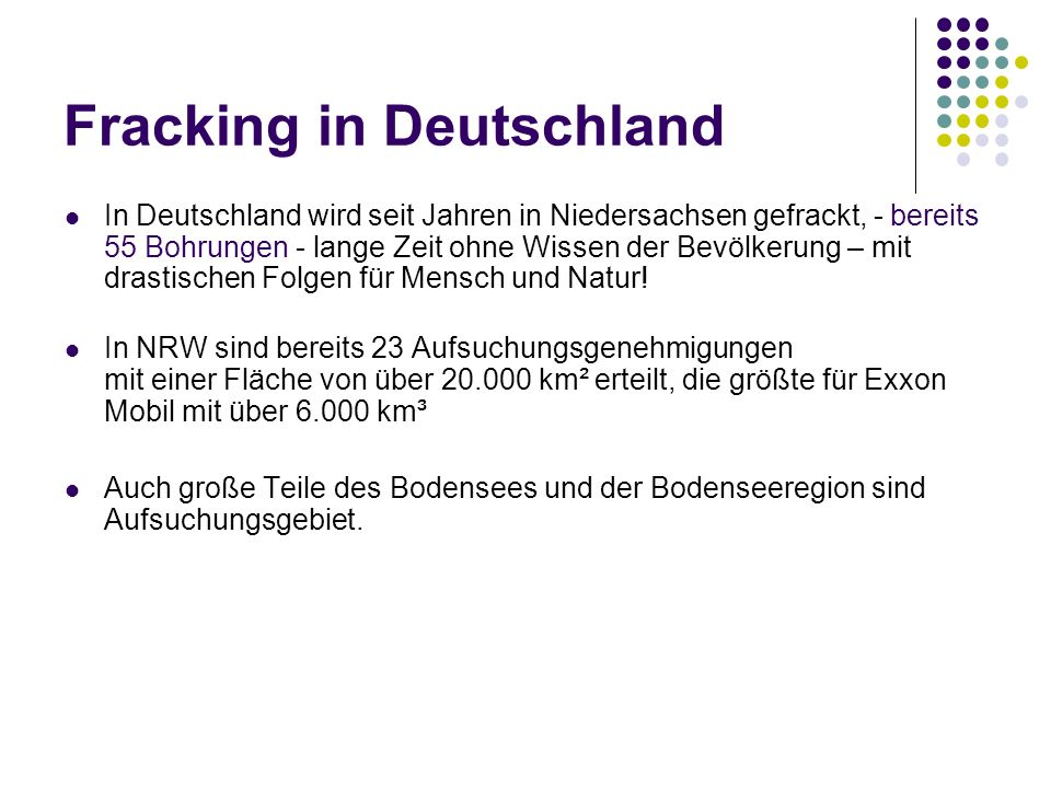 Fracking in Deutschland