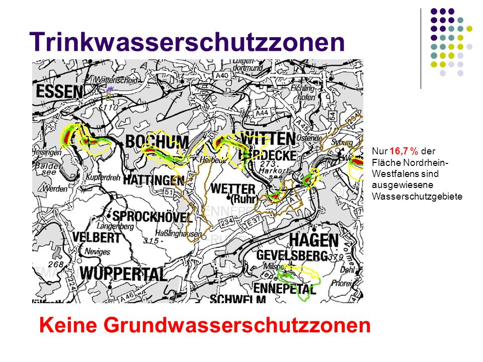 Trinkwasserschutzzonen