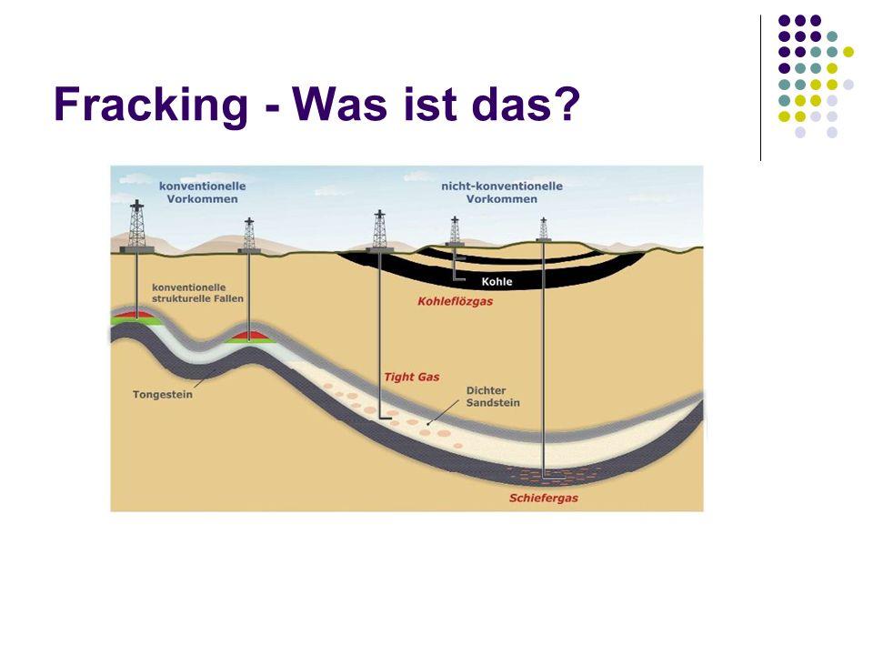 Fracking - Was ist das Bis zu 5000 m Tiefe
