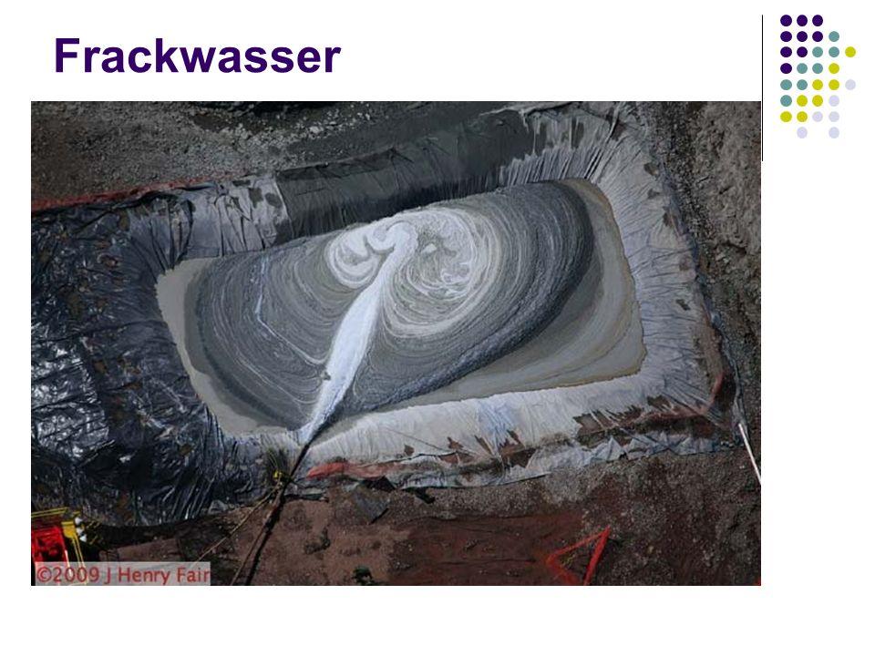 Frackwasser