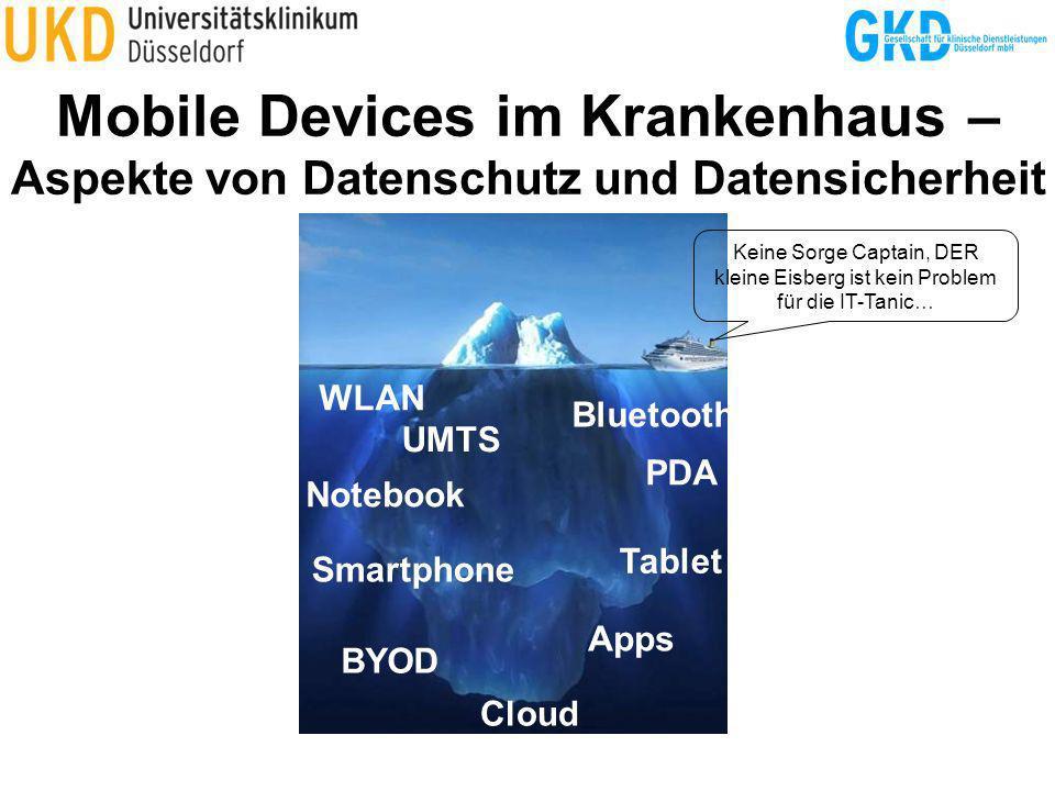 Mobile Devices im Krankenhaus – Aspekte von Datenschutz und Datensicherheit