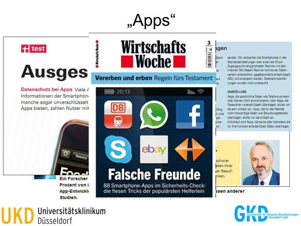 """Apps Quelle: Stiftung Warentest, 6/2012"