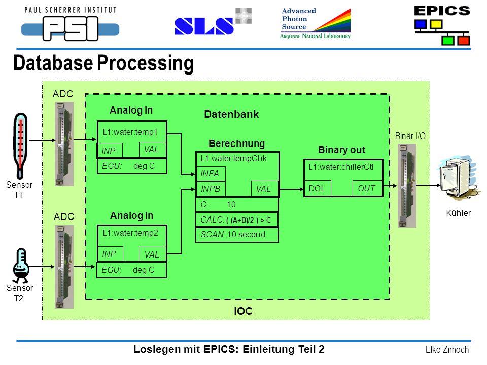 Database Processing Problem: