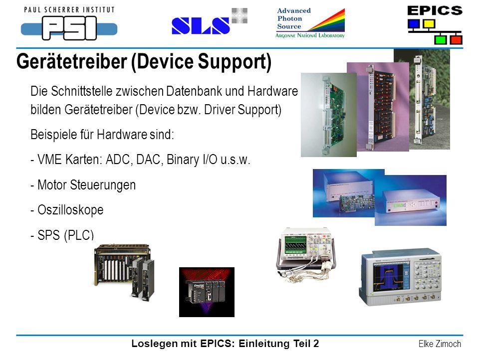 Gerätetreiber (Device Support)