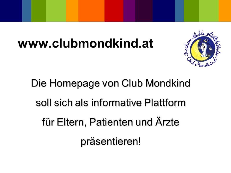 www.clubmondkind.at Die Homepage von Club Mondkind