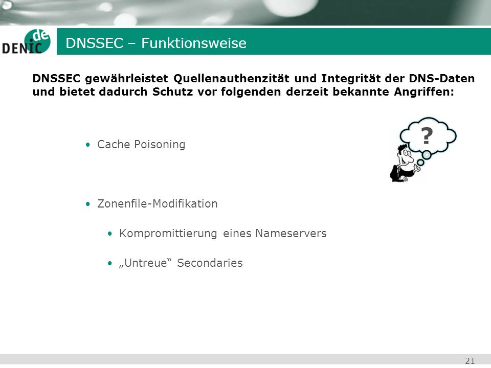 DNSSEC – Funktionsweise