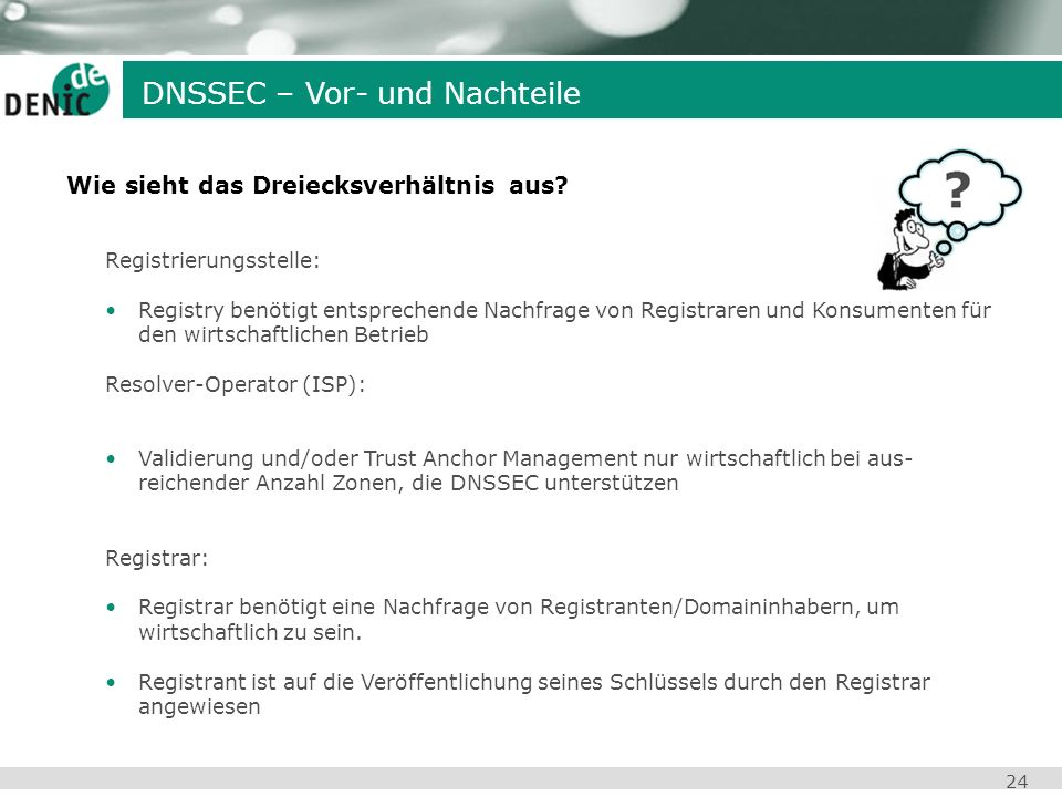 DNSSEC – Vor- und Nachteile