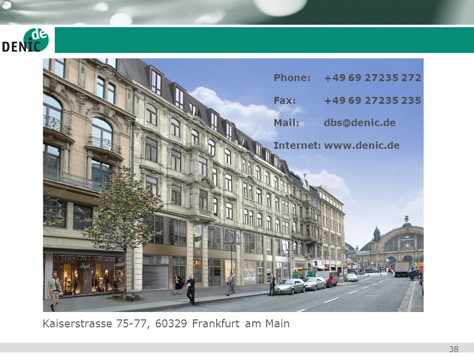 Kaiserstrasse 75-77, 60329 Frankfurt am Main