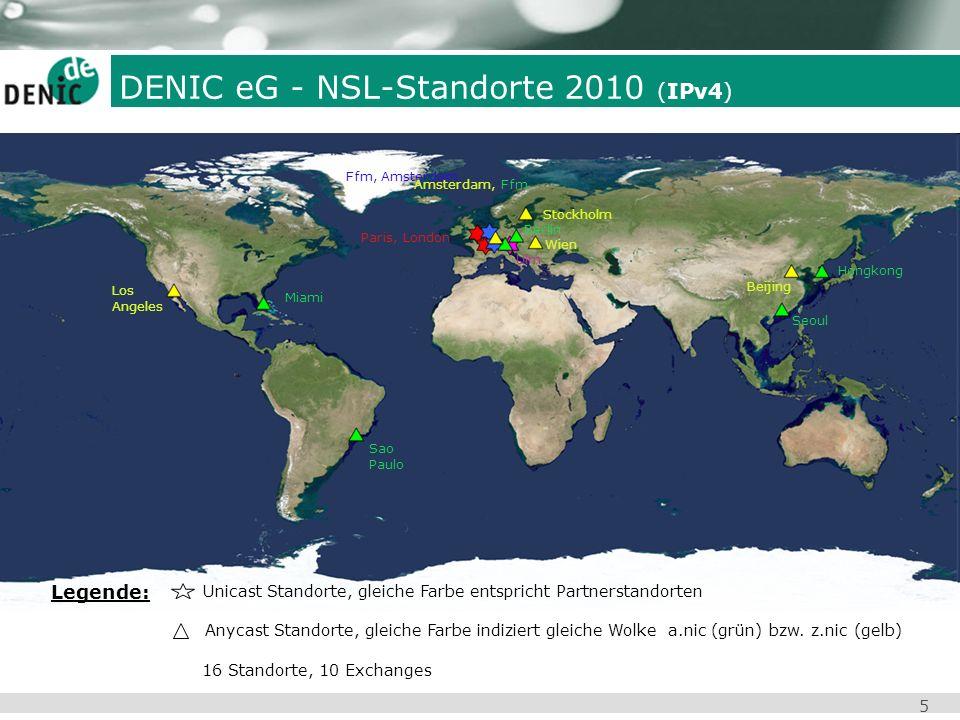 DENIC eG - NSL-Standorte 2010 (IPv4)