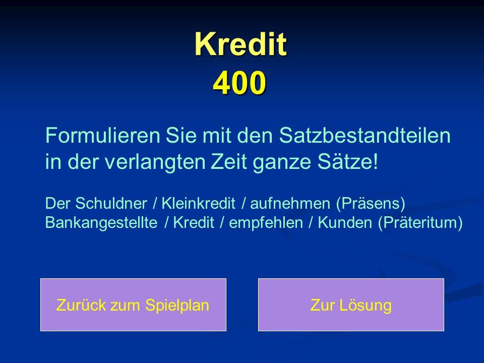 Kredit 400