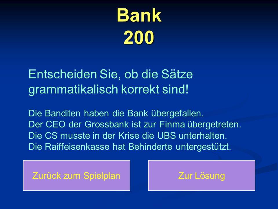 Bank 200