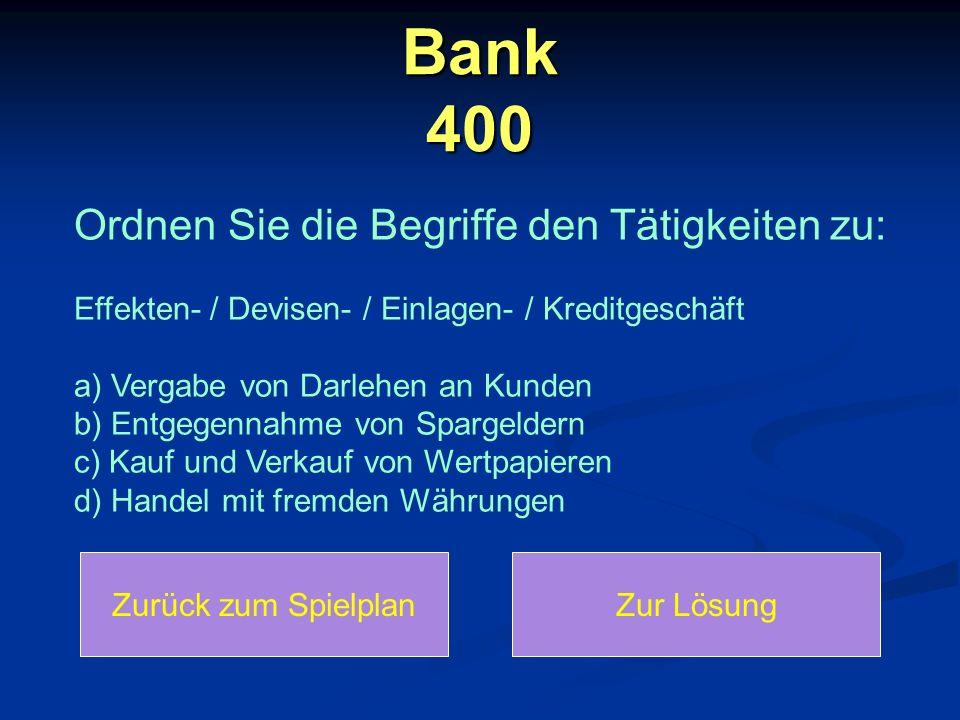 Bank 400