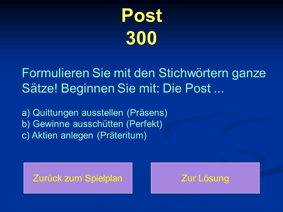 Post 300