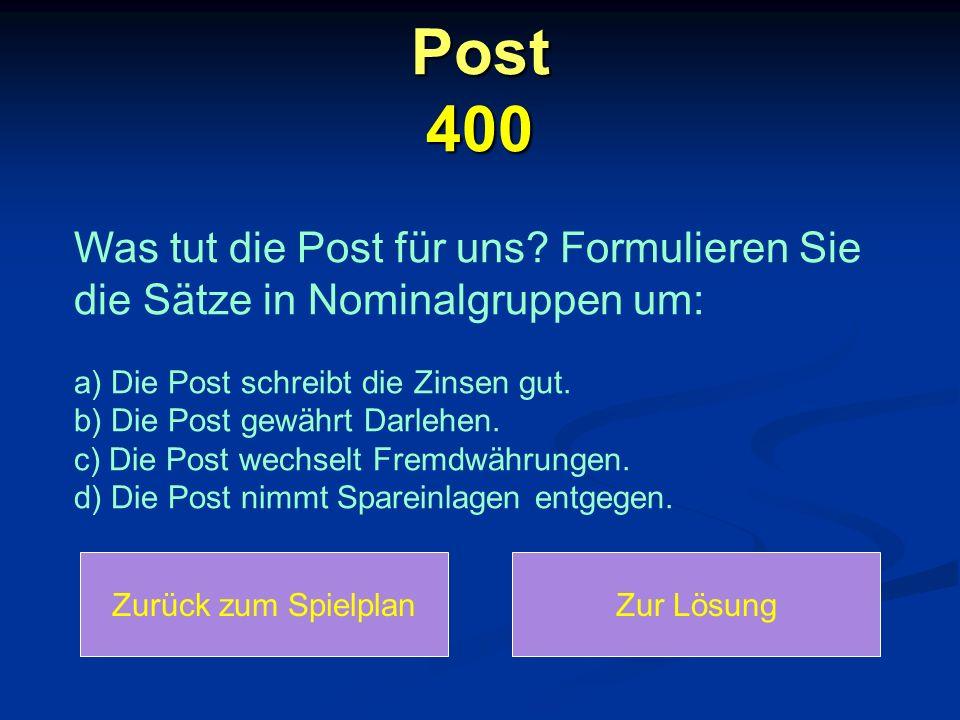 Post 400