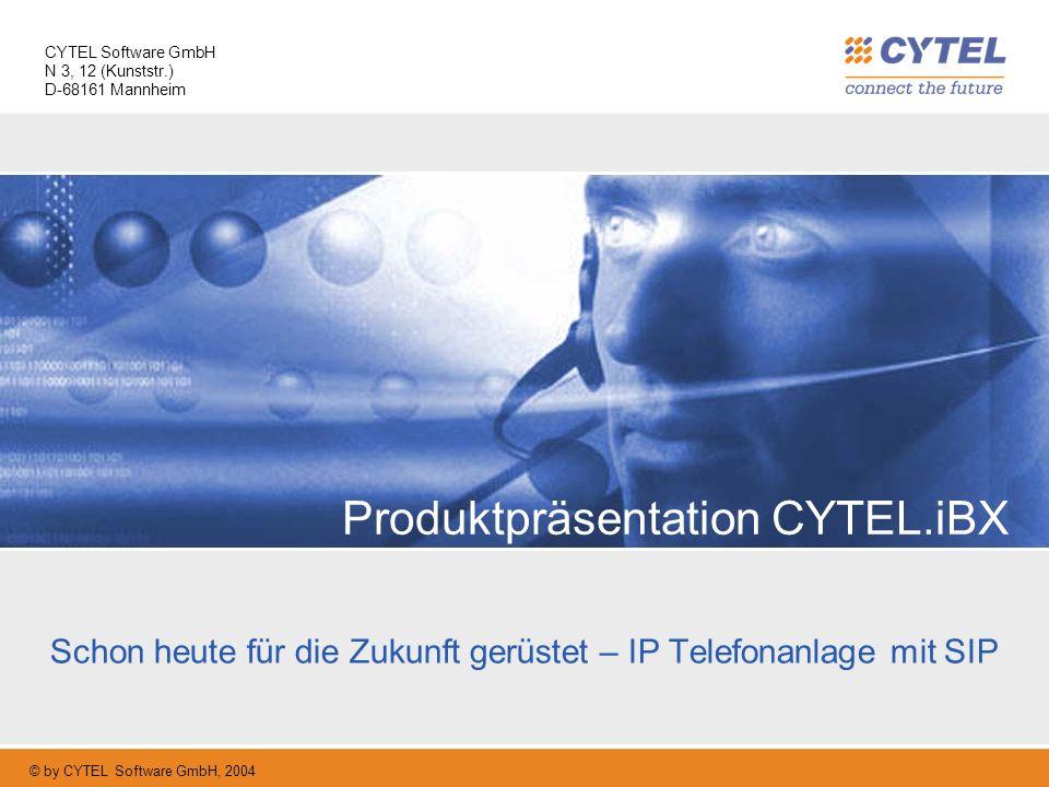 Produktpräsentation CYTEL.iBX