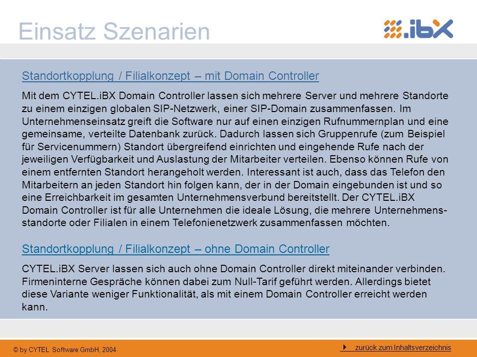 Einsatz SzenarienStandortkopplung / Filialkonzept – mit Domain Controller.