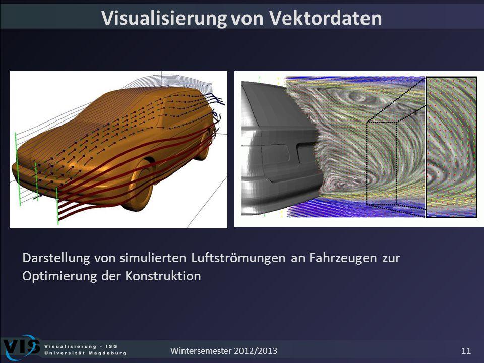Visualisierung von Vektordaten