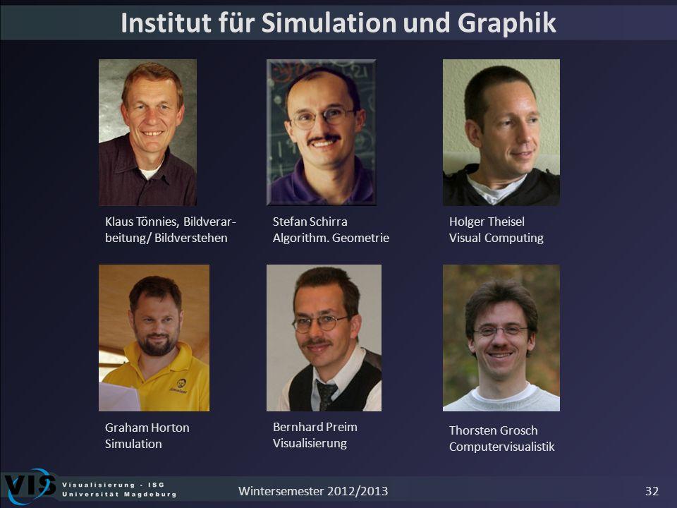 Institut für Simulation und Graphik