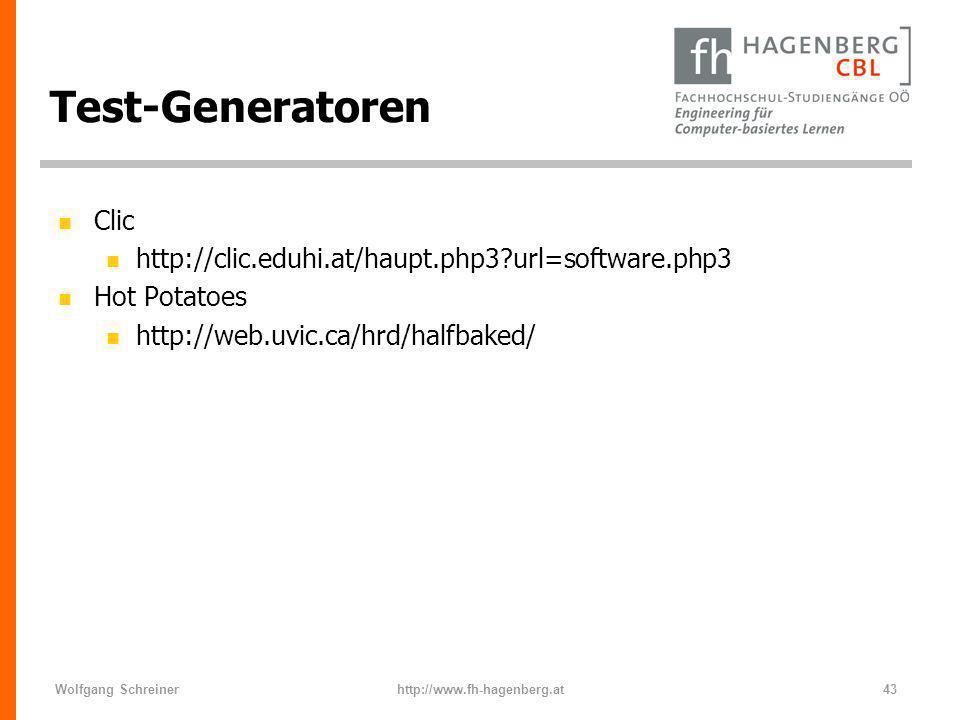 Test-Generatoren Clic
