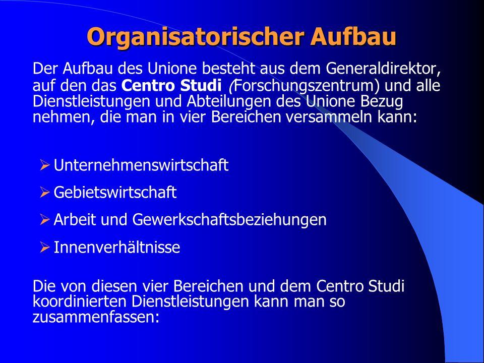 Organisatorischer Aufbau