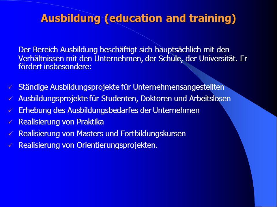 Ausbildung (education and training)