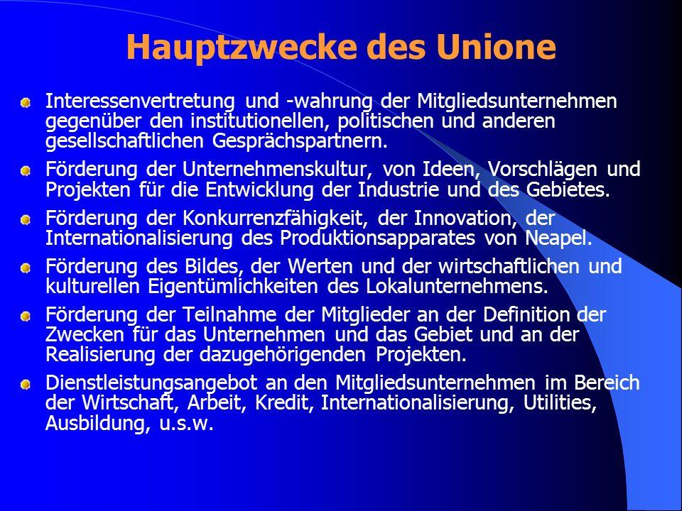 Hauptzwecke des Unione