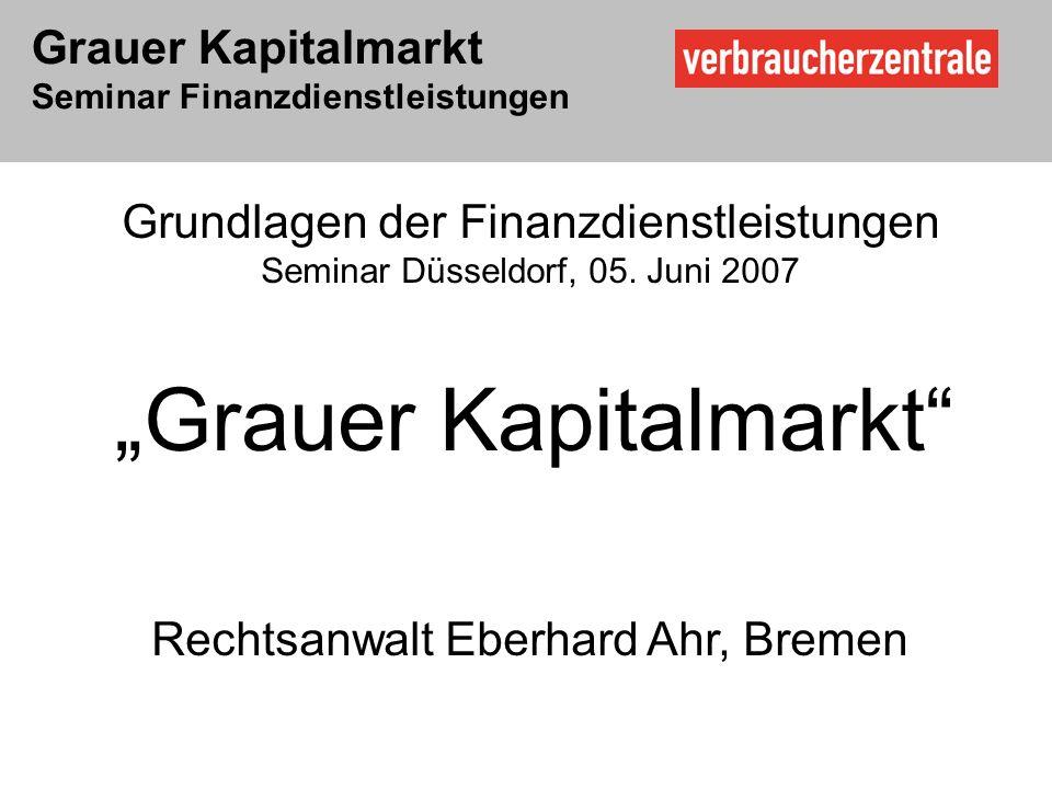 Rechtsanwalt Eberhard Ahr, Bremen