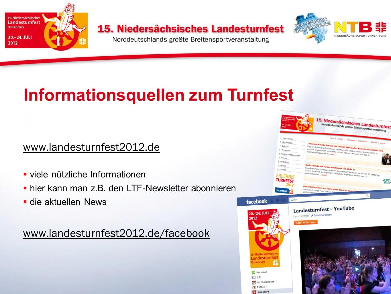Informationsquellen zum Turnfest