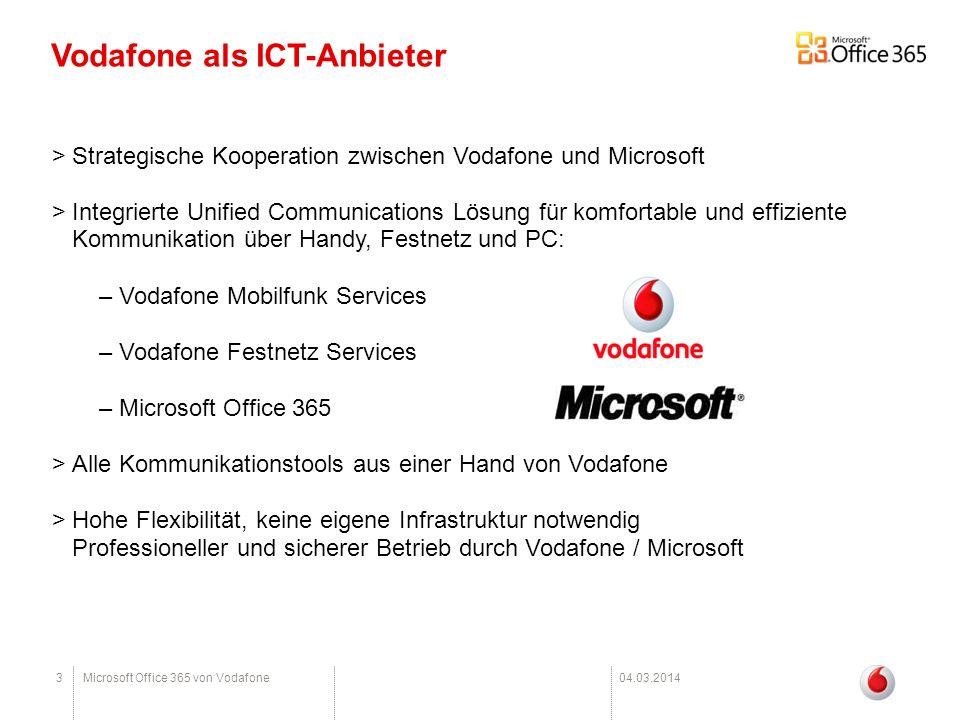 Vodafone als ICT-Anbieter