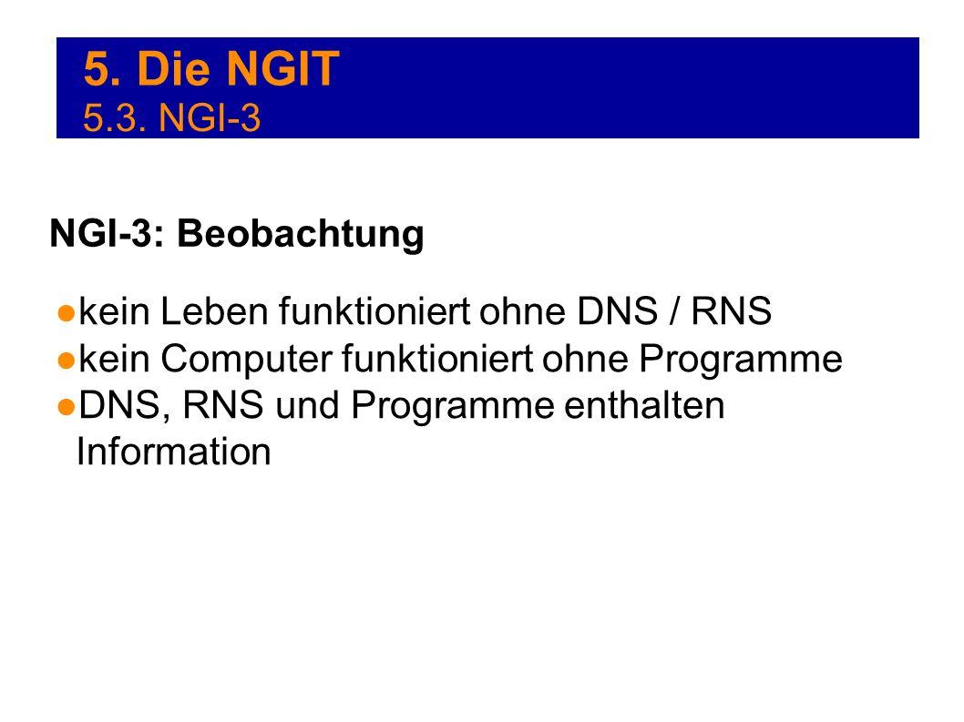 5. Die NGIT 5.3. NGI-3 NGI-3: Beobachtung