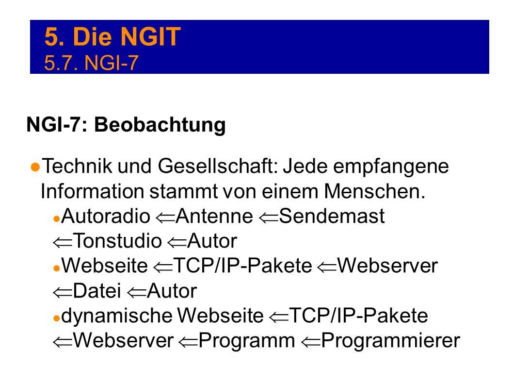 5. Die NGIT 5.7. NGI-7 NGI-7: Beobachtung