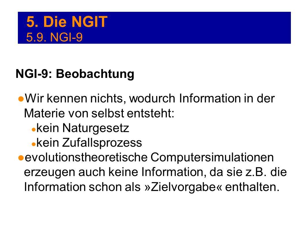 5. Die NGIT 5.9. NGI-9 NGI-9: Beobachtung