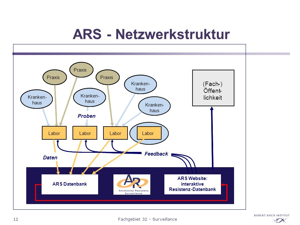 ARS - Netzwerkstruktur