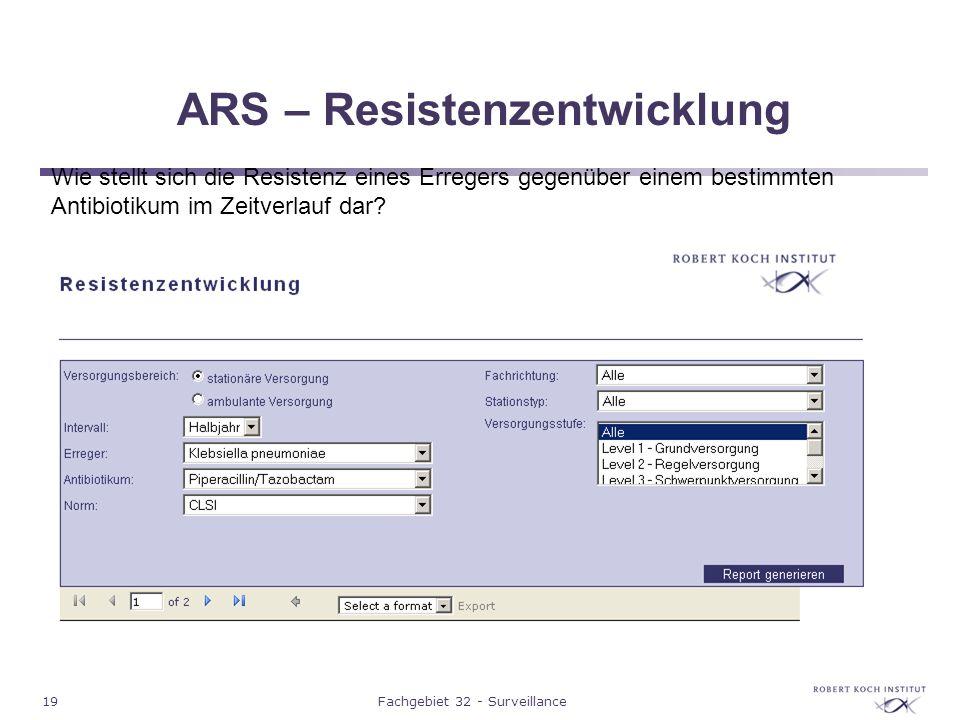 ARS – Resistenzentwicklung