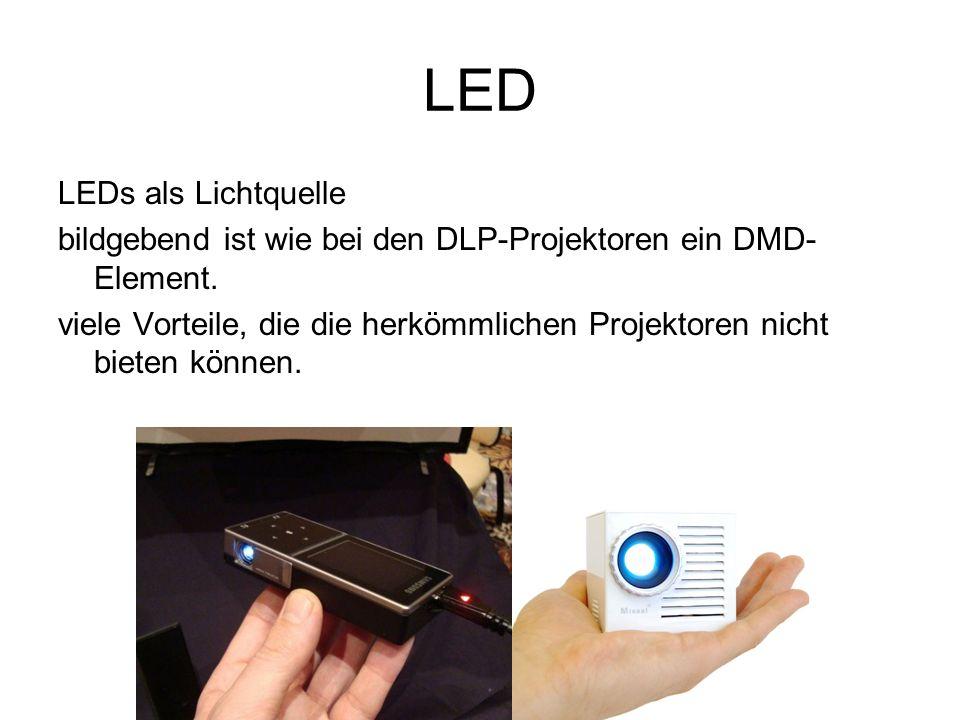 LED LEDs als Lichtquelle