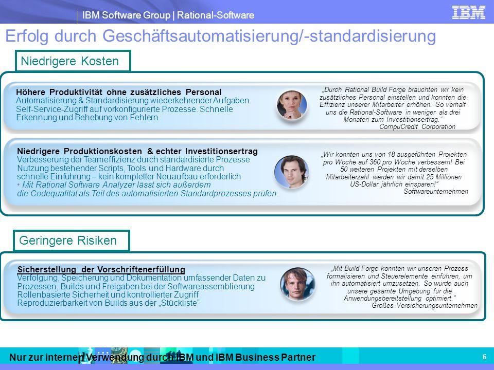 Erfolg durch Geschäftsautomatisierung/-standardisierung