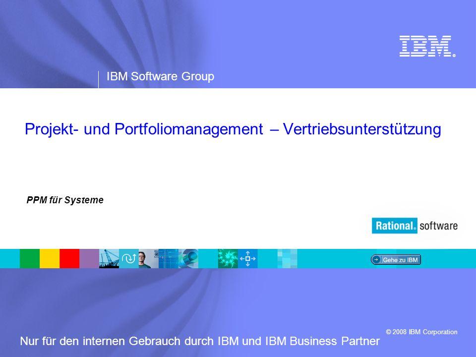 Projekt- und Portfoliomanagement – Vertriebsunterstützung