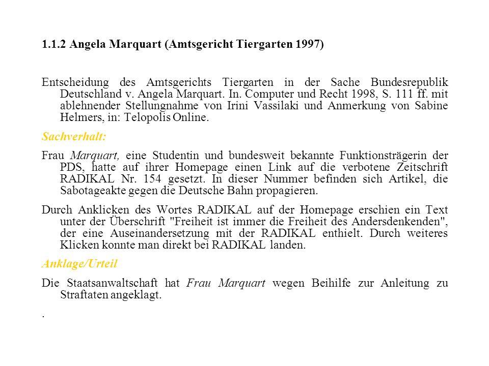 1.1.2 Angela Marquart (Amtsgericht Tiergarten 1997)