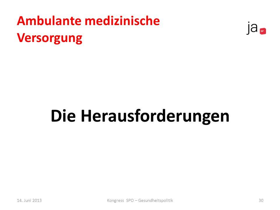 Ambulante medizinische Versorgung