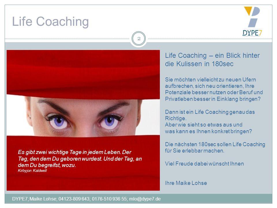 Life Coaching Life Coaching – ein Blick hinter die Kulissen in 180sec