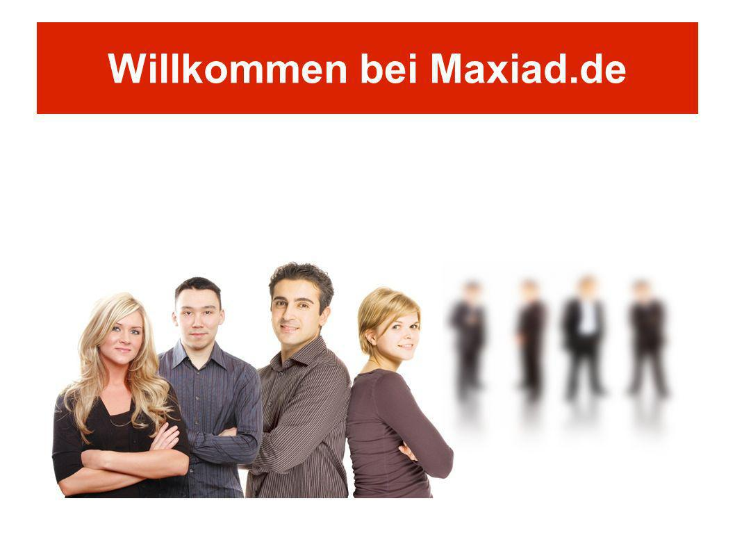 Willkommen bei Maxiad.de